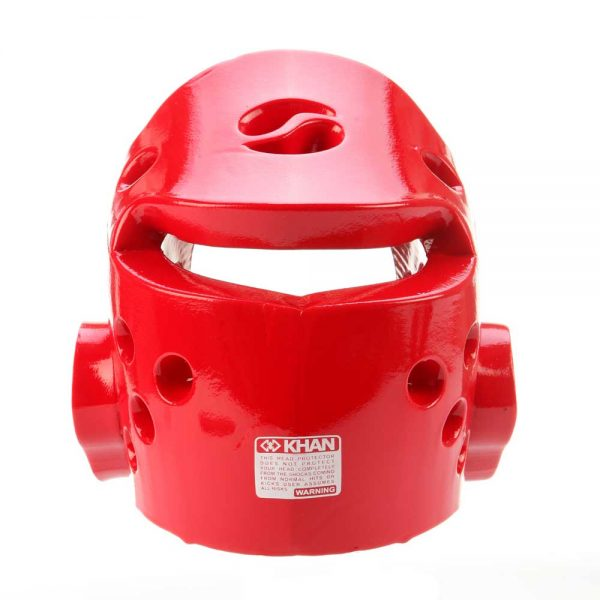 HG190402 Защита головы (шлем) Extra красный Khan