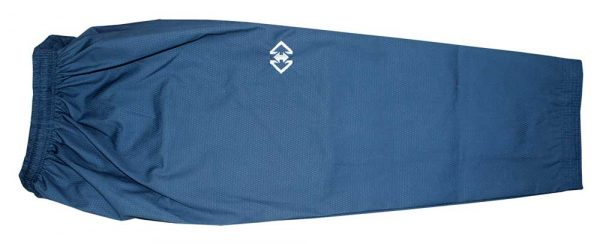 TPU005 Пхумсэ добок для мужчин белый с синим Poomsae Dan Dobok male Khan