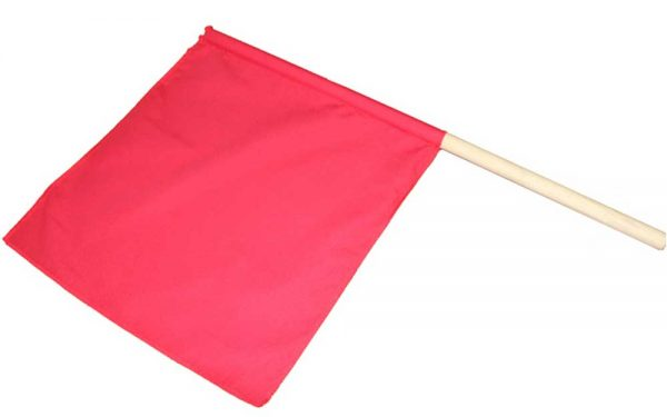 FKR60500 Флаг судейский для каратэ KHAN