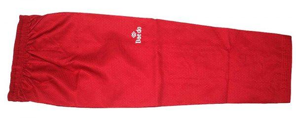 TA 20030R Форма для тхэквондо (добок) Competition EXTRA RED красный DAEDO
