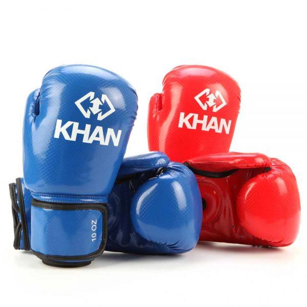 ITFPRO3500 Перчатки для тхэквондо ITF PRO 10 унций красные/синие KHAN