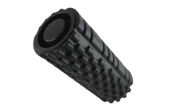 FTK80050 Массажный роллер (цилиндр) черный KHAN