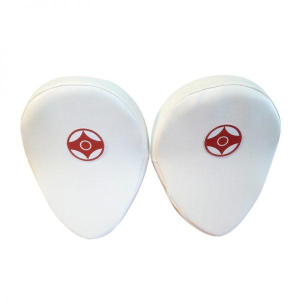 Лапы для каратэ загнутые пара натуральная кожа/кожзаменитель Леоспорт