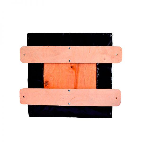 """Подушка прямоугольная """"Elit"""" основа - фанера, натуральная кожа Леоспорт"""