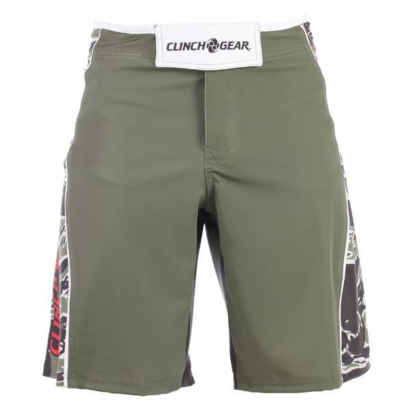 Шорты ММА Clinch Gear Signature Bengal Short- Rifle Green