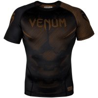 Рашгард Venum NoGi 2.0 Black/Brown