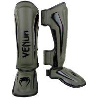 Щитки Venum Elite Khaki/Black