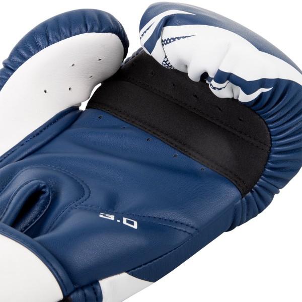 Перчатки боксерские Venum Challenger 3.0 Navy Blue/White
