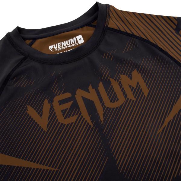 Рашгард Venum NoGi 2.0 Black/Brown