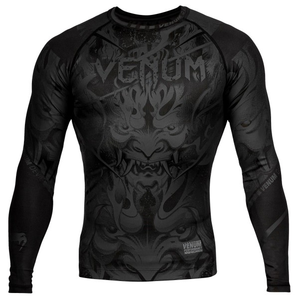 Рашгард Venum Devil Black/Black