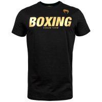 Футболка Venum Sport Classic Boxing Black/Gold