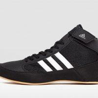 Борцовки Adidas HVC 2 черно-белые