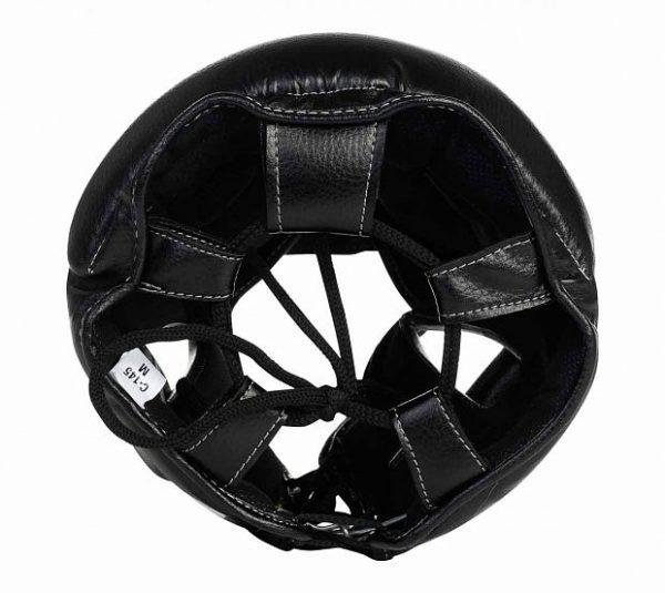Шлем боксерский Clinch Punch 2.0 черно-бронзовый