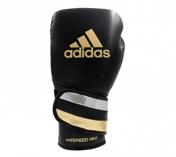 Перчатки боксерские Adidas AdiSpeed натуральная кожа
