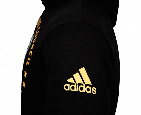 Толстовка с капюшоном Adidas Hoody Boxing WBC Champion Of Hope черная