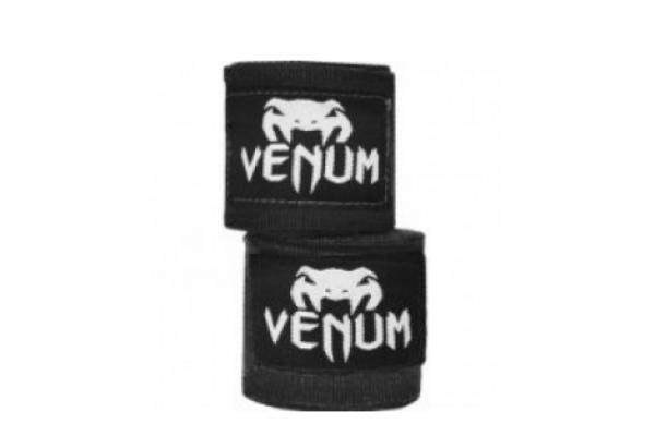 Бинты боксерские Venum Kontact 2,5m Black