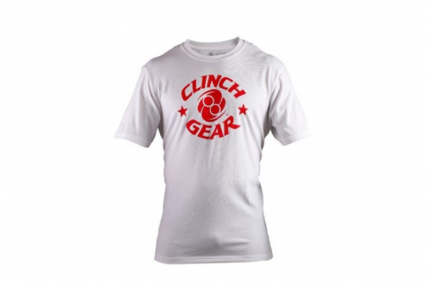 Футболка Clinch Gear Icon Tee White/Red