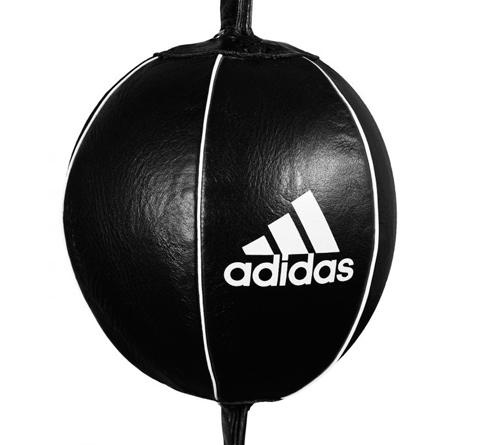 Груша пневматическая на растяжках Adidas Pro Mexican Double End Ball Leather черная