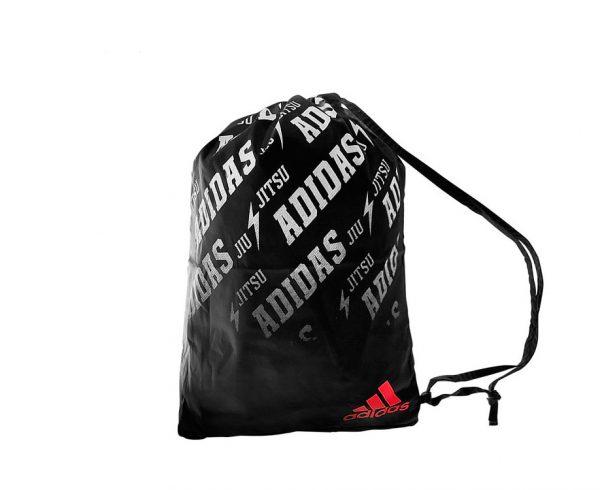 Мешок для кимоно Adidas Satin Carry Bag Jiu Jitsu черно-красный