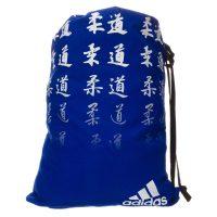 Мешок для кимоно Adidas Satin Carry Bag Judo сине-белый
