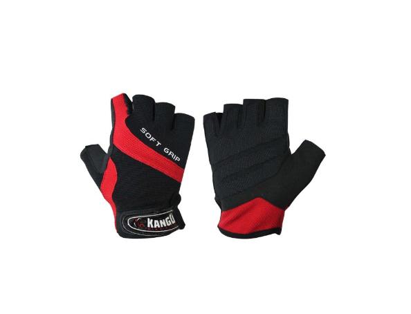 Перчатки для фитнеса Kango WGL-080 Black/Red