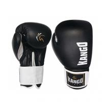 Перчатки боксерские Kango BMK-003 Black/White PU