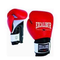 Перчатки боксерские Excalibur 8041/01 Red/Black/White PU
