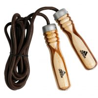 Скакалка Adidas Wood Jump Rope Pro Leather