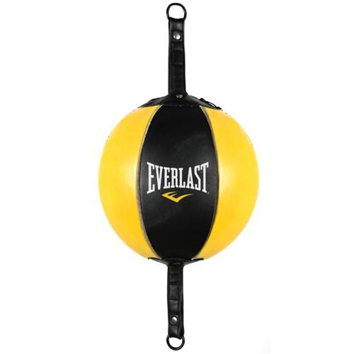 Груша на растяжках Everlast черно-желтая