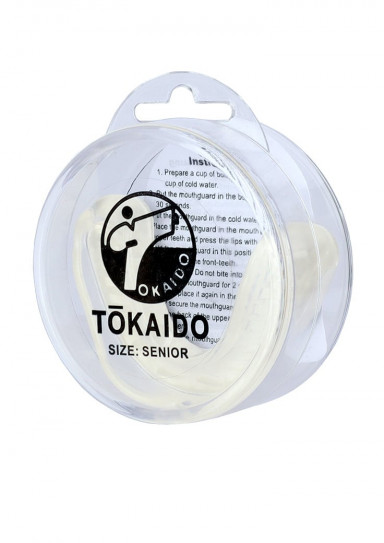 Капа KARATE TEETH PROTECTOR Tokaido белая