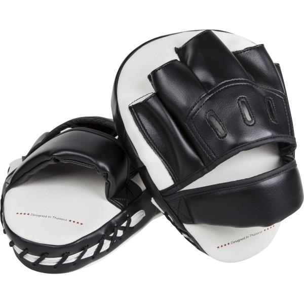 Лапы Venum Light Black/White