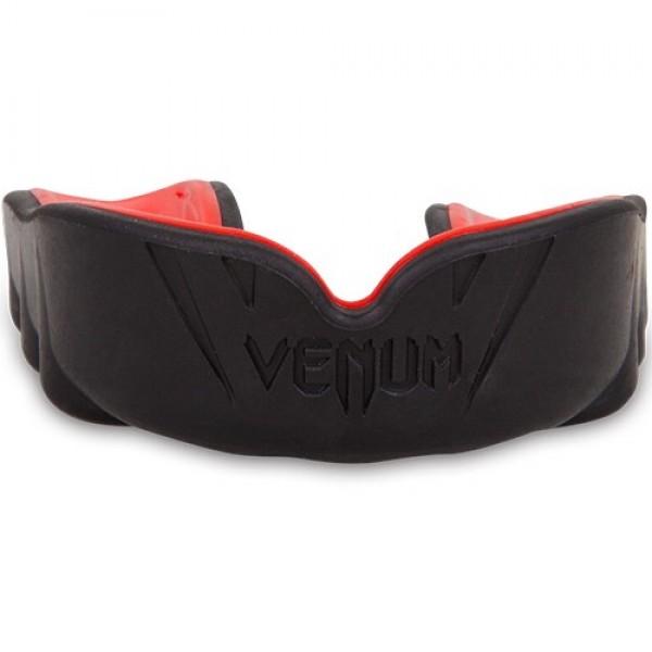 Капа боксерская Venum Challenger Black/Red