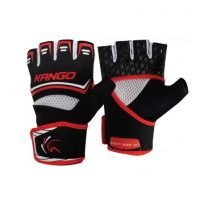 Перчатки спортивные Kango KMA-249 Black Red/White