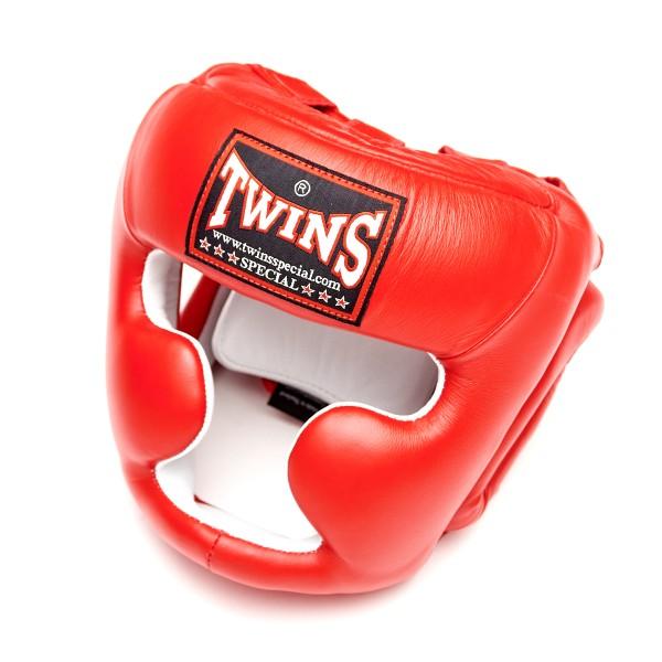 Шлем боксерский Twins HGL-3 Red