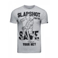 Футболка Athletic pro. Slapshot Gray