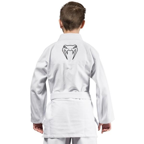 Кимоно для бжж Venum Contender Kids White с поясом