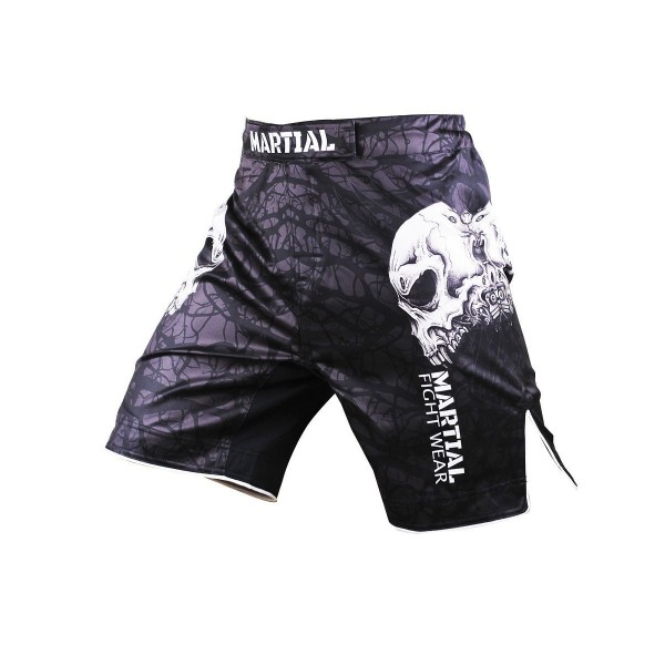 Шорты ММА Athletic pro. Skull MS-9
