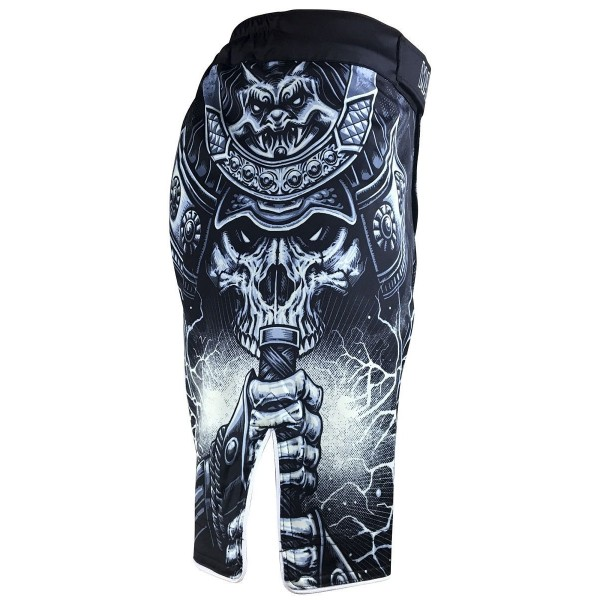 Шорты ММА Athletic pro. Samurai Skull MS-114