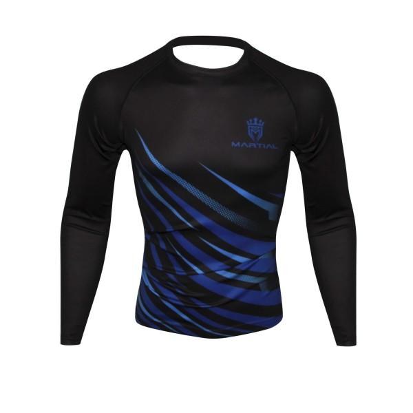 Рашгард Athletic pro. Blue MRG-122