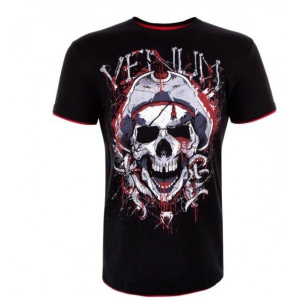 Футболка Venum Pirate 3.0 Black/Red