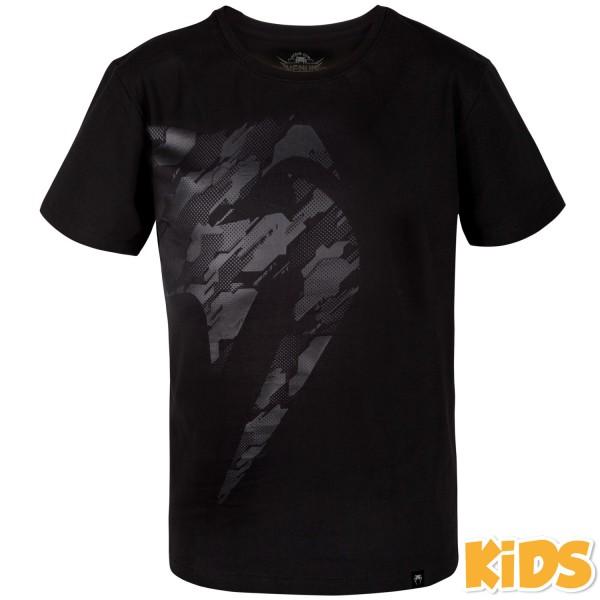Футболка детская Venum Tecmo Giant Black/Black