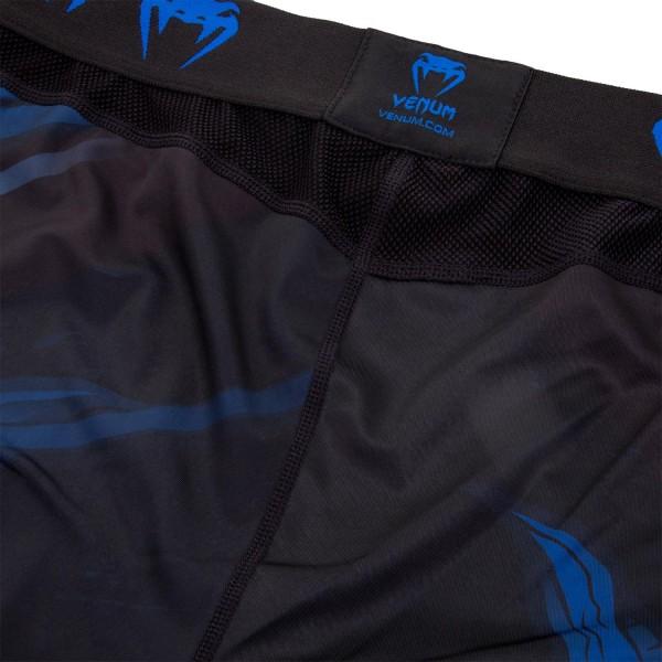 Компрессионные штаны Venum Devil Navy Blue/Black