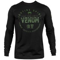 Лонгслив Venum Signature Khaki/Black