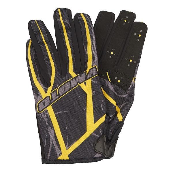 Мотоперчатки Vmoto 1265 Black/Yellow