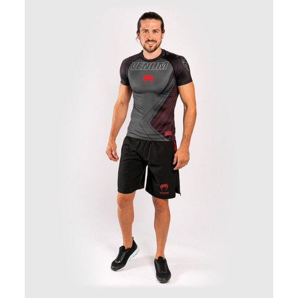 Рашгард Venum Contender 5.0 S/S Black/Red