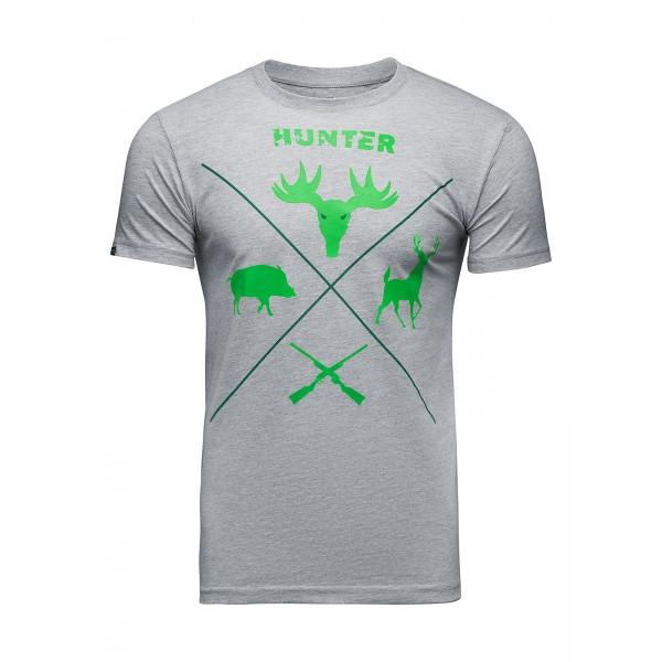 Футболка Athletic pro. Hunter Gray/Khaki