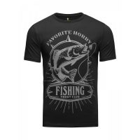 Футболка Athletic pro. Fishing Black