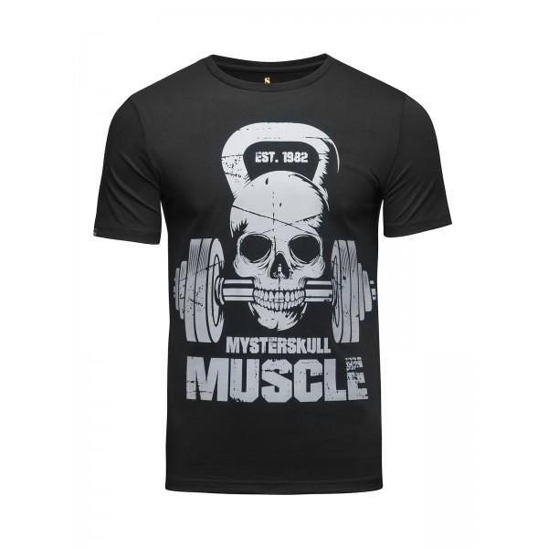 Футболка Banji Skull fitness Black