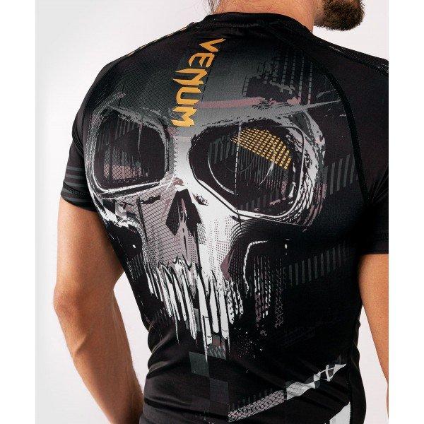 Рашгард Venum Skull S/S Black