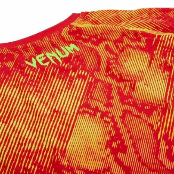 Рашгард Venum Fusion Orange/Yellow S/S
